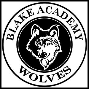 Blake Academy Wolves logo
